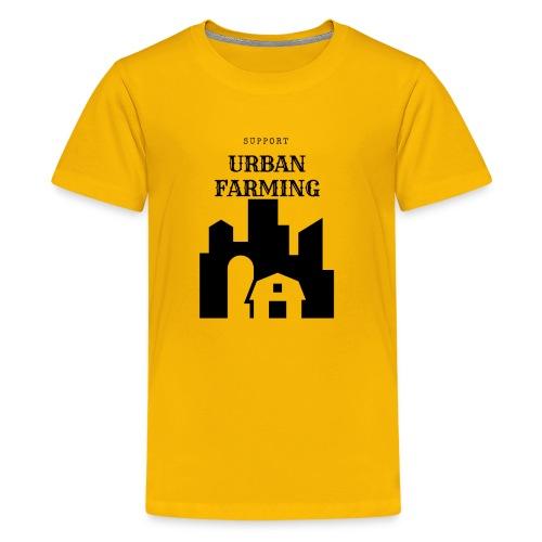 Support Urban Farming - Kids' Premium T-Shirt
