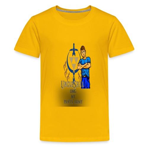 UncleShal shirt design OMG MY PANTS - Kids' Premium T-Shirt
