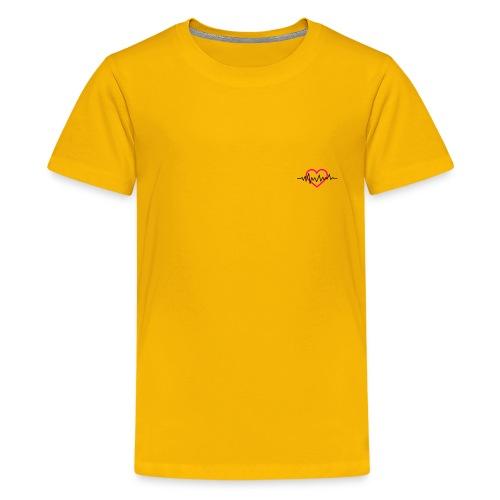 My Heart Beat - Kids' Premium T-Shirt
