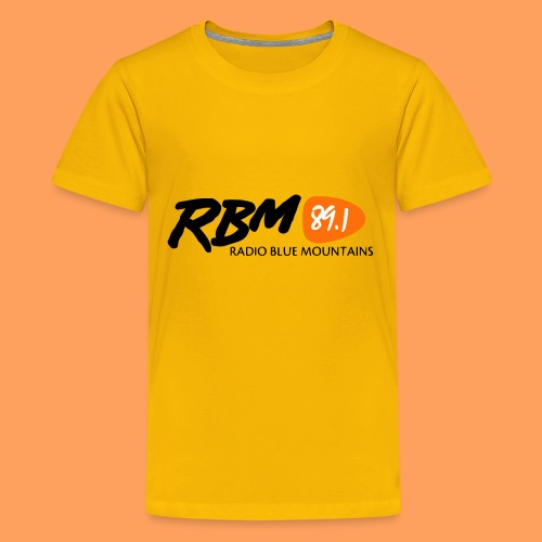 RBM Logo - Orange - Kids' Premium T-Shirt