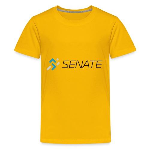 Color-Logo-with-Text - Kids' Premium T-Shirt