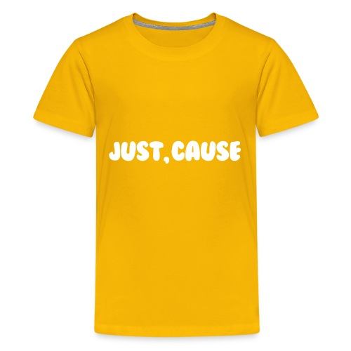 Just Cause Mens T-Shirt - Kids' Premium T-Shirt