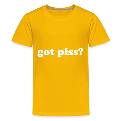gotpiss - Kids' Premium T-Shirt