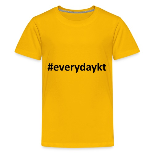 everydaykt single - Kids' Premium T-Shirt