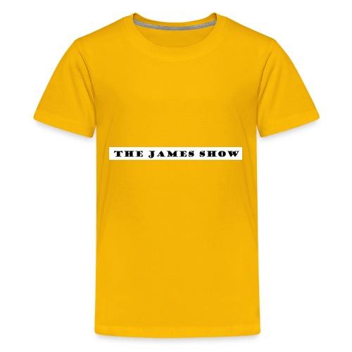 The James Show logo - Kids' Premium T-Shirt