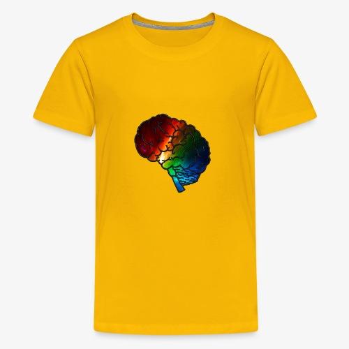 Neurodiversity Rainbow Brain - Kids' Premium T-Shirt