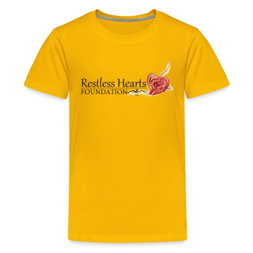 Restless Hearts Foundation Logo - Kids' Premium T-Shirt