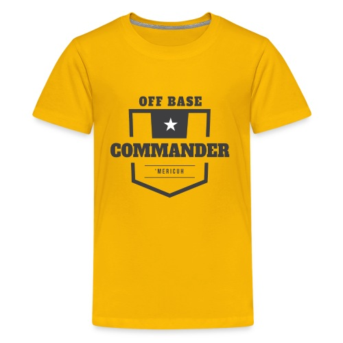 Off Base Commander - Kids' Premium T-Shirt