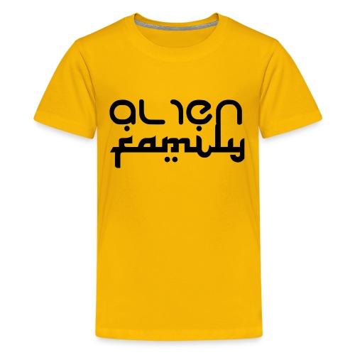 Alien Fam logo Tee - Kids' Premium T-Shirt