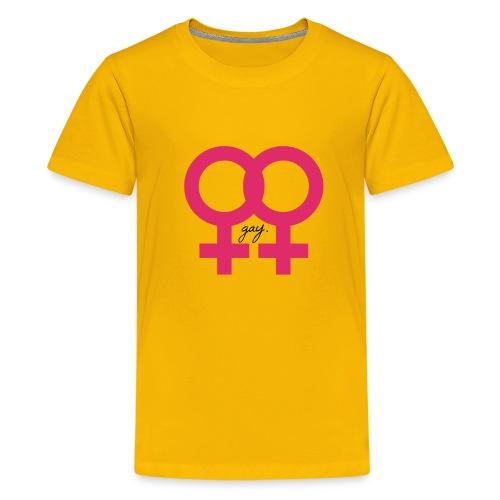 gay. - Kids' Premium T-Shirt