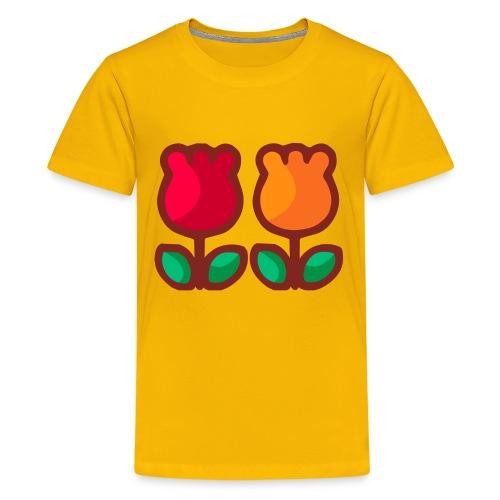 Loving Tulips - Kids' Premium T-Shirt