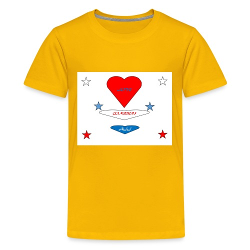 iNNOVA22SWAY LOVE CONQUERS ALL - Kids' Premium T-Shirt