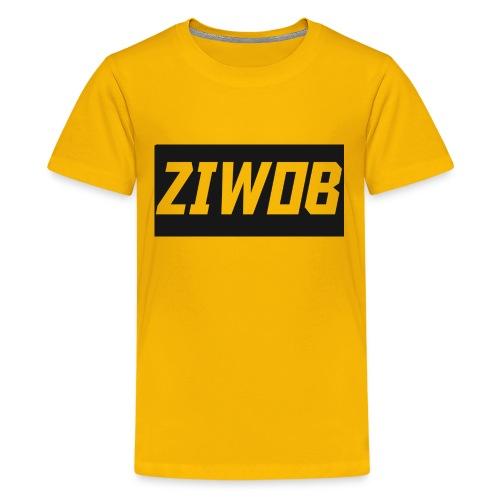 Ziwob shirt design - Kids' Premium T-Shirt