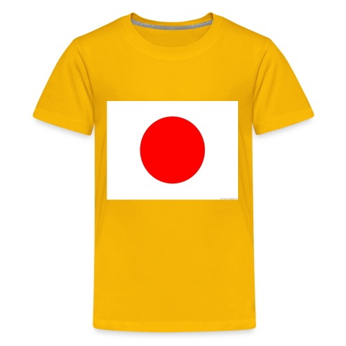 Japanese flag - Kids' Premium T-Shirt