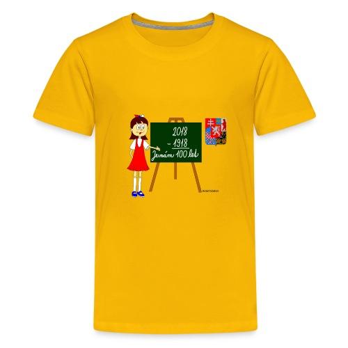 100 years of Czechoslovakia - Kids' Premium T-Shirt