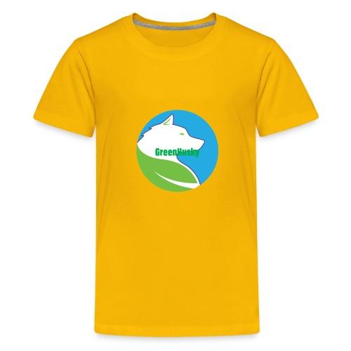 Greenhusky symbol - Kids' Premium T-Shirt