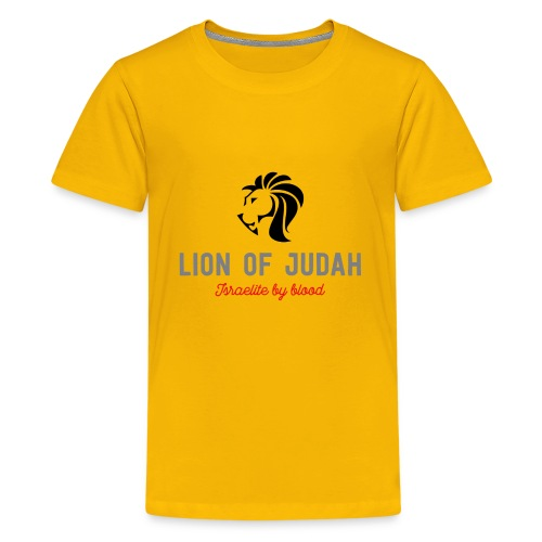 Lion Of Judah - Kids' Premium T-Shirt