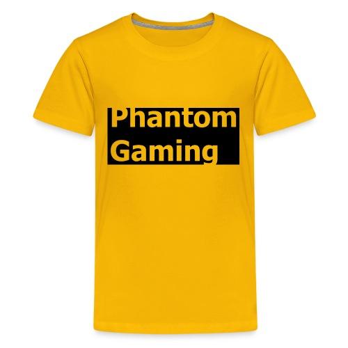 Phantom Shirt No.4 | New Logo Design - Kids' Premium T-Shirt