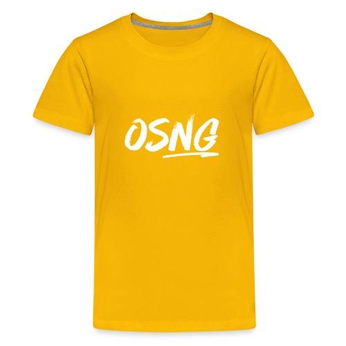 ALLWHITESLASH - Kids' Premium T-Shirt
