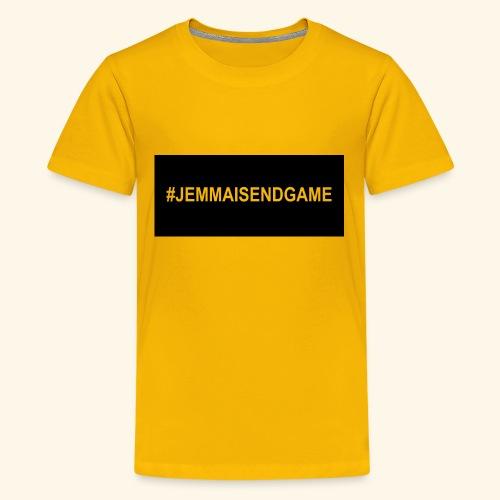 #JEMMAISENDGAME CASE - Kids' Premium T-Shirt