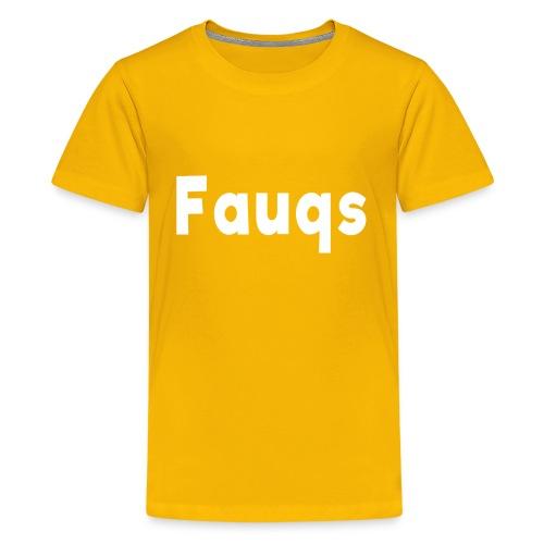 Fauqs Hoodie - Kids' Premium T-Shirt