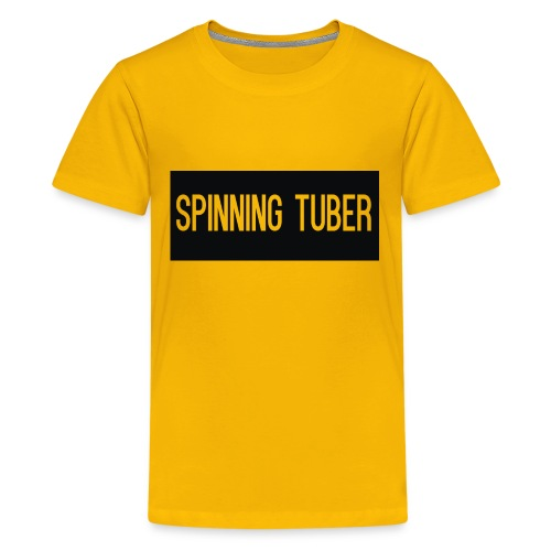 Spinning Tuber's Design - Kids' Premium T-Shirt