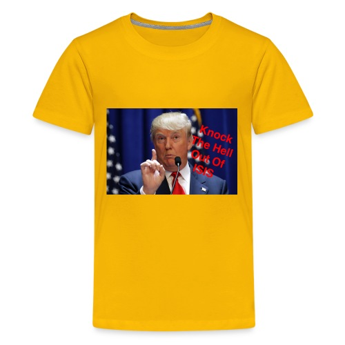 Knock the hell out of isis - Kids' Premium T-Shirt