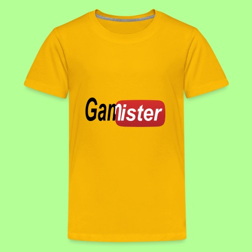 gamister_shirt_design_6 - Kids' Premium T-Shirt