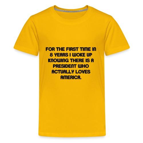 President Loves USA - Kids' Premium T-Shirt