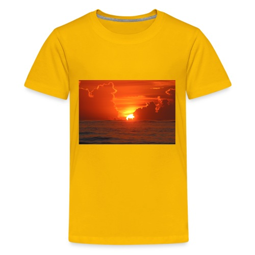 Sunrise on Vilano Beach - Kids' Premium T-Shirt