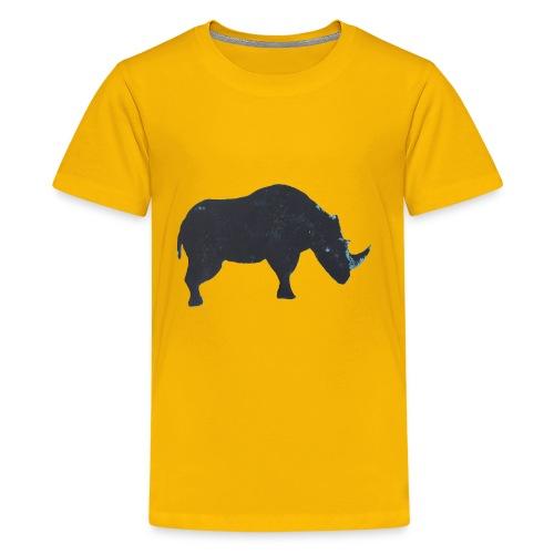 Rhino print - Kids' Premium T-Shirt