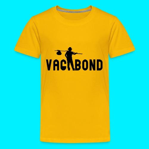 Vagabond Logo Wide - Kids' Premium T-Shirt