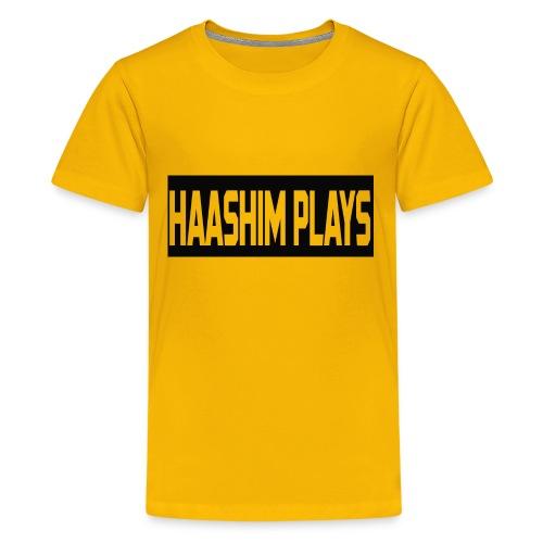 Haashim Plays - Kids' Premium T-Shirt