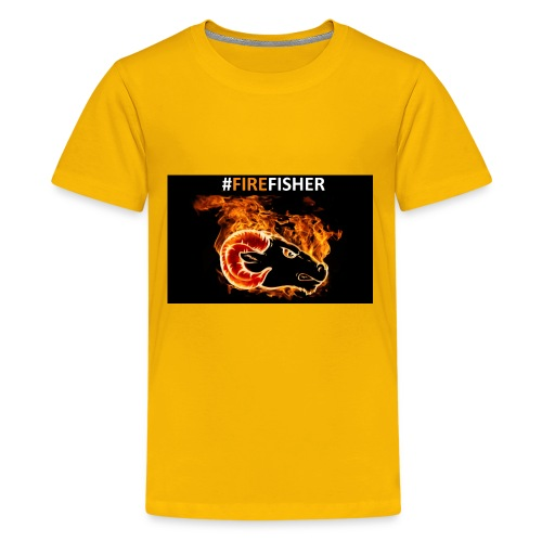 Fire_Fisher - Kids' Premium T-Shirt