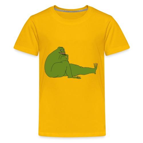 Smug Pepe - Kids' Premium T-Shirt