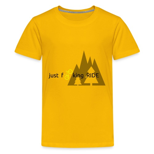 Mountain Biking JFR - Kids' Premium T-Shirt