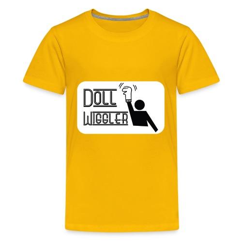Doll Wiggler - Puppet Shirt - Kids' Premium T-Shirt