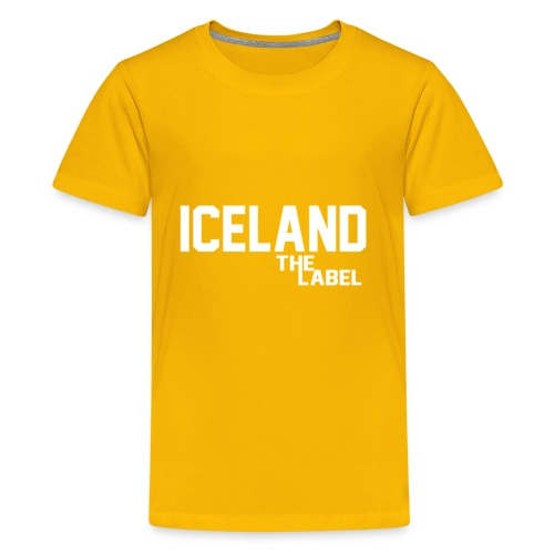 iceland_the_label_printable - Kids' Premium T-Shirt