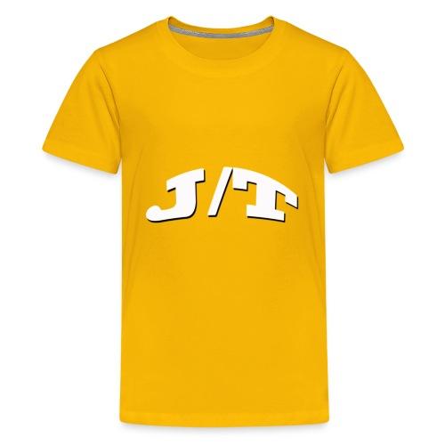 White Lettering - Kids' Premium T-Shirt