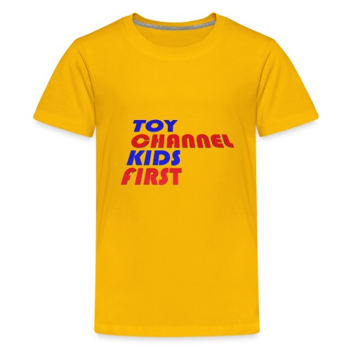 TOY CHANNEL KIDS FIRST - Kids' Premium T-Shirt