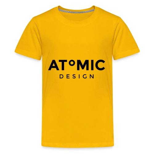 Atomic Design Brand Logo - Kids' Premium T-Shirt