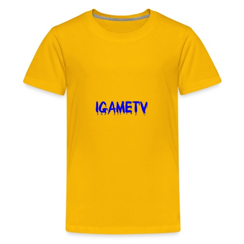 IGAME TV BLUE EDITION - Kids' Premium T-Shirt