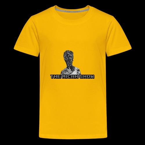 Limited Edition Silver Micah Show Logo's - Kids' Premium T-Shirt