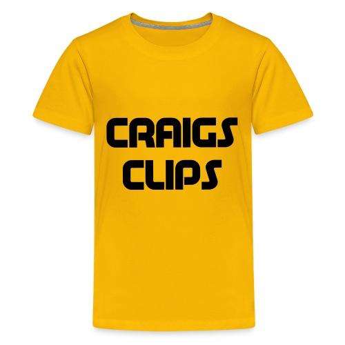 craigs clips - Kids' Premium T-Shirt