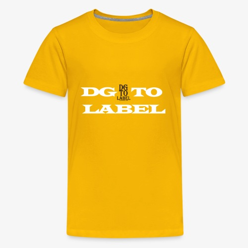 DGTO LABEL - Kids' Premium T-Shirt