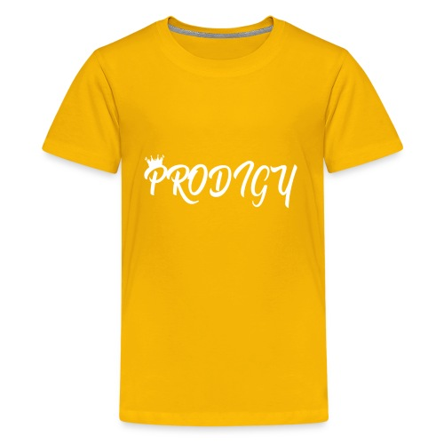 Prodigy White on White - Kids' Premium T-Shirt
