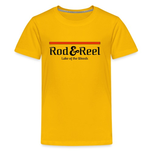 RodandReelSimple - Kids' Premium T-Shirt