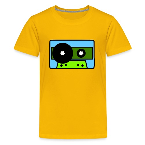 424 Recording Cassette Tape Logo T-Shirt - Kids' Premium T-Shirt