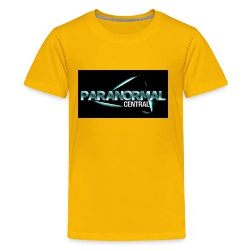 Paranormal Central On Black - Kids' Premium T-Shirt