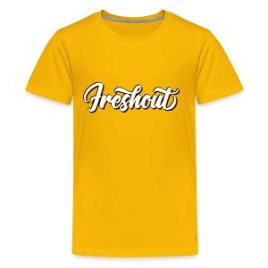 FRESHout Bubble Logo - Kids' Premium T-Shirt